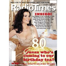 RT 4150 - 27 September-3 October 2003 (South West) Radio Times - 80th Anniversary. Nigella Lawson & Michael Parkinson. Bumper issue with gate cover.