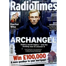 RT 4225 - 19-25 March 2005 (South West)  ARCHANGEL with cover photo of Daniel Craig // plus DR WHO NIGHT