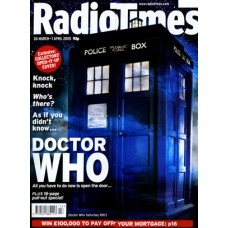 RT 4226 - 26 March-1 April 2005 (London) EASTER / DR WHO with gate cover showing Tardis opening to Christopher Eccleston and Billie Piper.