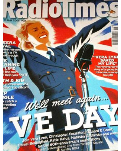 RT 4232 - 7-13 May 2005 (South / West & SouthWest)   VE DAY: WE'LL MEET AGAIN / A PARTY TO REMEMBER Illustration of Vera Lynn (by Mark Thomas).