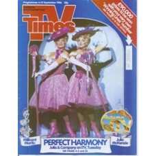 TVT 1986/37 - 6-12 September 1986 (TVS and C4) JULIA & COMPANY with cover photo of Millicent Martin and Julia McKenzie.