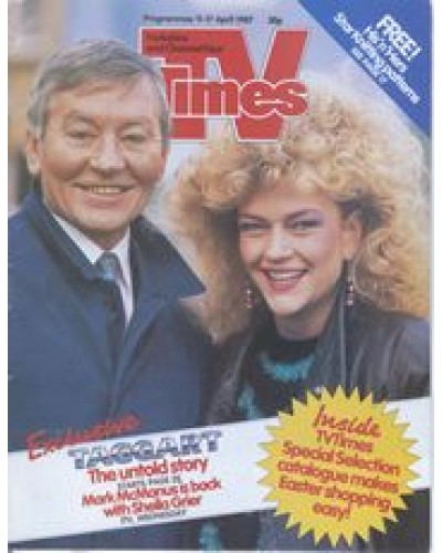 TVT 1987/16 - 11-17 April 1987 (HTV and C4) TAGGART - Mark McManus, Sheila Grier
