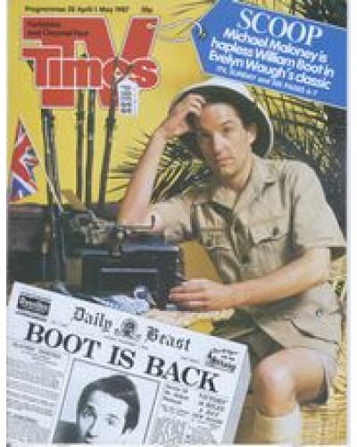 TVT 1987/18 - 25 April-1 May 1987 (TVS and C4) SCOOP - Michael Maloney
