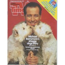 TVT 1987/22 - 23-29 May 1987 (HTV and C4) Bank Holiday issue: THE MICHAEL BARRYMORE SPECIAL - Michael Barrymore with dogs