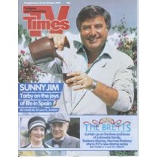 TVT 1987/42 - 10-16 October 1987 (Anglia and C4) LIVE FROM THE PALLADIUM - Jimmy Tarbuck. Also: THE BRETTS - Barbara Murray, Norman Rodway