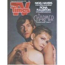 TVT 1987/44 - 24-30 October 1987 (HTV and C4) THE CHARMER - Nigel Havers, Fiona Fullerton