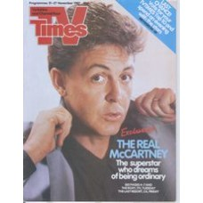 TVT 1987/48 - 21-27 November 1987 (TSW and C4) THE ROXY / THE LAST RESORT WITH JONATHAN ROSS - Paul McCartney
