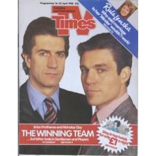 TVT 1988/16 - 16-22 April 1988 (HTV and C4)  GENTLEMEN AND PLAYERS - Brian Protheroe, Nicholas Clay