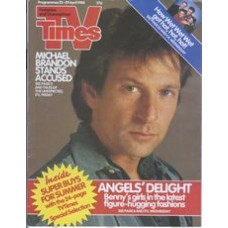 TVT 1988/17 - 23-29 April 1988 (HTV and C4) TALES OF THE UNEXPECTED - with cover photo opf Michael Brandon