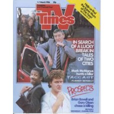 TVT 1986/10 - 1-7 March 1986 (TVS and C4) TAGGART - Mark McManus / PROSPECTS - Brian Bovell, Gary Olsen.