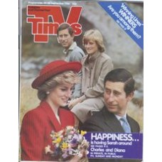 TVT 1986/39 - 20-26 September 1986 (TVS and C4) IN PRIVATE, IN PUBLIC: THE PRINCE AND PRINCESS OF WALES - with cover photos of  Charles and Diana.