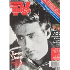 TVT 1989/27 - 1-7 July 1989 (TVS and C4) JAMES DEAN - THE FIRST AMERICAN TEENAGER (C4) with James Dean on the cover.