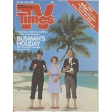 TVT 1985/09 - 23 February-1 March 1985 (Thames/LWT and C4) BUSMAN'S HOLIDAY - Policemen, midwives, hoteliers...they're all chasing a Busman's Holiday