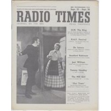 RT 1199 - September 20, 1946 (Sep 22-28) LA BOHEME Cover photo of a scene from the opening act.