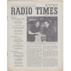 RT 1204 - October 25, 1946 (Oct 27-Nov 2) ALL HALE (Light Programme) Binnie and Sonnie Hale.
