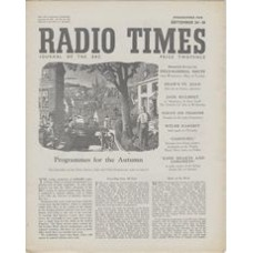 RT 1405 - September 22, 1950 (Sep 24-30) (London) AUTUMN - with cover drawing (by CW Bacon) of an autumn street.