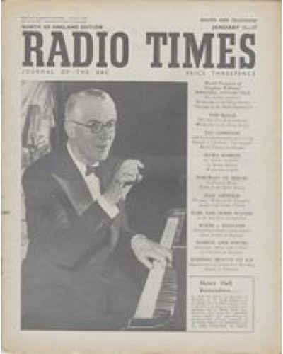 RT 1522 - January 9, 1953 (Jan 11-17) (Northern Ireland) FACE THE MUSIC Henry Hall