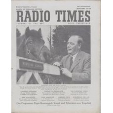 RT 1523 - January 16, 1953 (Jan 18-24) (London) COUNTRY MAGAZINE (Home) Ralph Whightman with Nutmeg, a pony. / ANY QUESTIONS? (Light / Home)