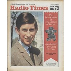 RT 2381 - June 26, 1969 (Jun 28-Jul 4) (Midlands & East Anglia) THE INVESTITURE Special Number - with cover photo of The Prince of Wales Prince Charles.