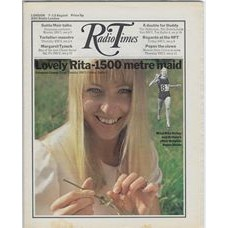 RT 2491 - 5 August 1971 (7-13 Aug) (North) EUROPEAN GAMES with cover photo of Rita Ridley.