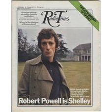RT 2538 - 29 June 1972 (1-7 Jul) (South) SHELLEY (BBC2) with cover photo of Robert Powell.