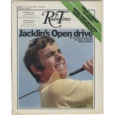 RT 2539 - 6 July 1972 (8-14 Jul) OPEN GOLF (BBCtv & Radio 2) with cover photo of Tony Jacklin in action