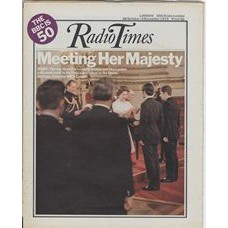 RT 2555 - 26 October 1972 (28 Oct-3 Nov) (North West) BBC - 50th Anniversary - with cover photo of  the Queen.