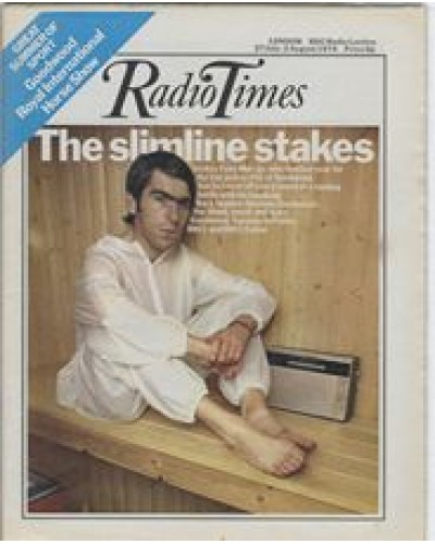 RT 2646 - 25 July 1974 (27 Jul-2 Aug) (Scotland) GLORIOUS GOODWOOD with cover photo of Tony Murray.