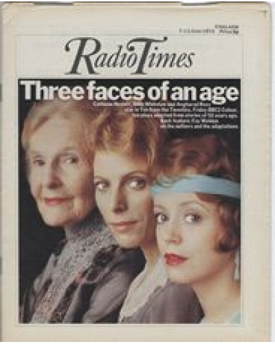 RT 2691 - 5 June 1975 (7-13 Jun) (England) TEN FROM THE TWENTIES (BBC2) with cover photo of Cathleen Nesbitt, Billie Whitelaw and Angharad Rees - who star in 10 plays.