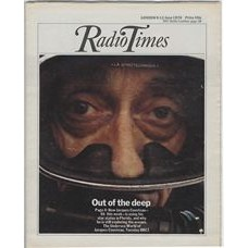 RT 2743 - 3 June 1976 (5-11 Jun) THE UNDERSEA WORLD OF JACQUES COUSTEAU (BBC1) with cover photo of Jacques Cousteau.