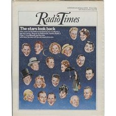 RT 2744 - 10 June 1976 (12-18 Jun) HOORAY FOR HOLLYWOOD with cover illustration (by John Gorham) of faces of 'stars' in the sky.
