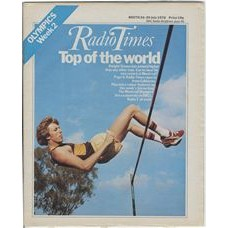 RT 2750 - 22 July 1976 (24-30 Jul) (Scotland) MONTREAL OLYMPICS Week 2 - with cover photo of Dwight Stones, high-jump record holder.