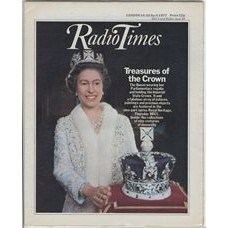 RT 2788 - 14 April 1977 (16-22 Apr) (London) ROYAL HERITAGE (BBC1) with cover photo of The Queen.