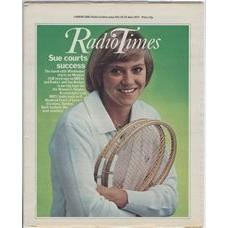 RT 2797 - 16 June 1977 (18-24 Jun) (Wales) WIMBLEDON (BBCtv & Radio 3) with cover photo of Sue Barker.