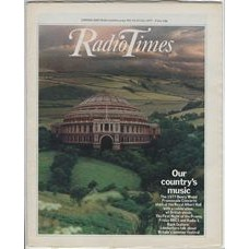 RT 2801 - 14 July 1977 (16-22 Jul) (Scotland) FIRST NIGHT OF THE PROMS (BBC2 & Radio 3) with cover photo of the Royal Albert Hall (in the countryside!)