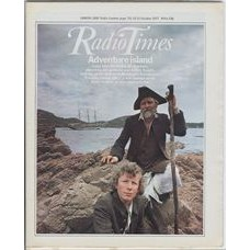 RT 2814 - 13 October 1977 (15-21 Oct) (North) TREASURE ISLAND (BBC1) with cover photo of Alfred Burke and Ashley Knight.