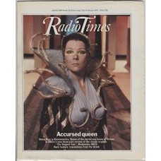 RT 2886 - 1 March 1979 (3-9 Mar) THE SERPENT SON (BBC2) with cover photo of Diana Rigg as Klytemnestra.