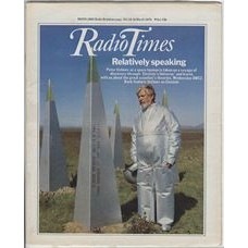 RT 2887 - 8 March 1979 (10-16 Mar) EINSTEIN'S UNIVERSE (BBC2) with cover photo of Peter Ustinov.