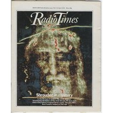 RT 2891 - 5 April 1979 (7-13 Apr) THE SILENT WITNESS (BBC1) with cover (by Clino Trini Castilli) of the Turin shroud.