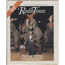 RT 2892 - 12 April 1979 (14-20 Apr) EASTER The Circus is in Town - with cover photo of elephants performing.