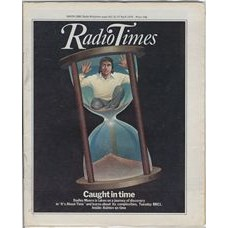 RT 2893 - 19 April 1979 (21-27 Apr) IT'S ABOUT TIME (BBC1) with cover illustration (by Roy Ellsworth) of  Dudley Moore in an egg-timer.