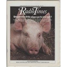 RT 2895 - 3 May 1979 (5-11 May) BRASS TACKS - Should this little piggy go to market? Safer farming or cheaper food?' Cover photo of a piglet.