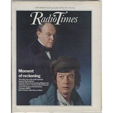 RT 2897 - 17 May 1979 (19-25 May) Dostoevsky's CRIME AND PUNISHMENT John Hurt and Timothy West.