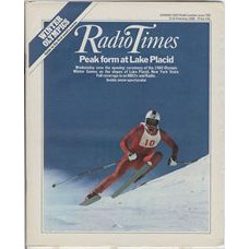 RT 2935 - 9-15 February 1980 WINTER OLYMPICS New York State. Cover photo of skiing.