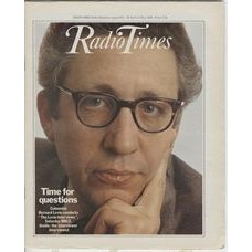 RT 2946 - 26 Apr-2 May 1980 THE LEVIN INTERVIEWS (BBC2) with cover photo of Bernard Levin.