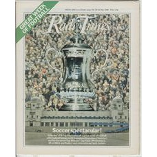 RT 2948 - 10-16 May 1980 FA CUP FINAL Cover montage with the cup central.