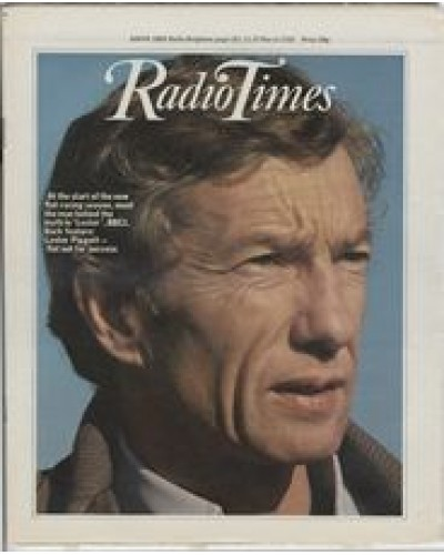 RT 2993 - 21-27 March 1981 LESTER (BBC1) with cover photo of Lester Piggott, close up.
