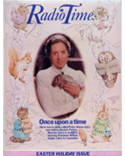 RT 3099 - 2-8 April 1983 [Unpublished / Unavailable] NOT PUBLISHED - EASTER with Beatrix Potter cover (by Penelope Wilton).