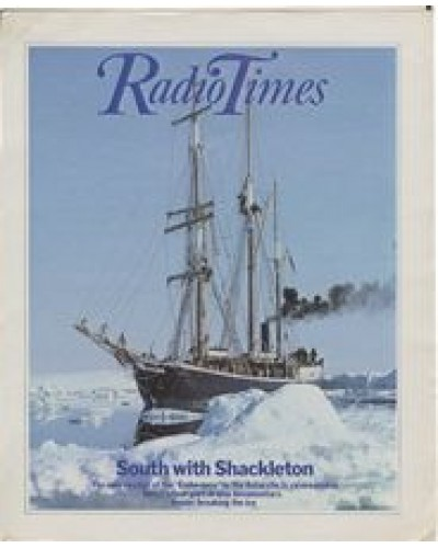 RT 3100 - 9-15 April 1983 [Unpublished / Unavailable] NOT PUBLISHED - SOUTH WITH SHACKLETON