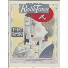RT 3102 - 23-29 April 1983 (National Edition) BRITAIN IN THE THIRTIES (BBC2 New series) with cover illustration by Ian Beck